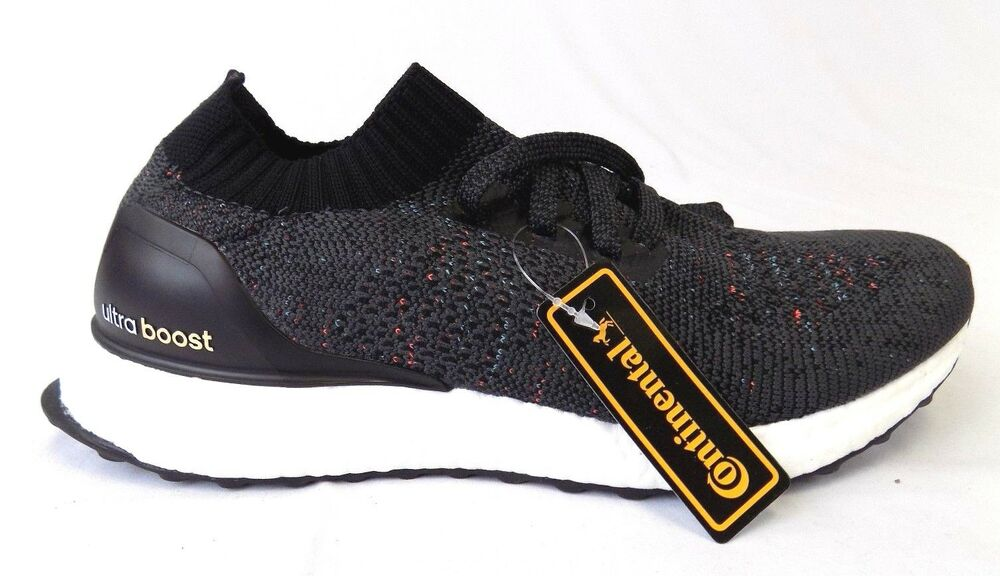 7052be314ca1d Details about NEW MEN S ADIDAS ULTRABOOST UNCAGED BLACK MULTICOLOR BB4486  SHOES SNEAKERS