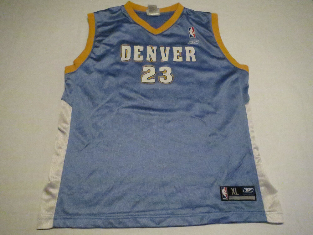 4211ffaae6f Reebok Marcus Camby Denver Nuggets Jersey Size Youth XL Mens S NBA  Basketball | eBay