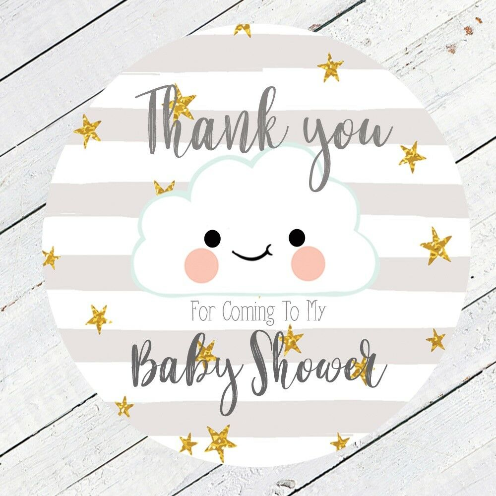 Baby Shower Games Stickers Gender Neutral New Mum To Be Favour Bag
