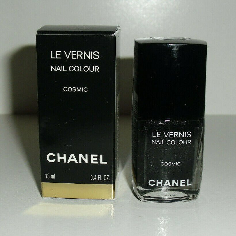 Chanel Cosmic Black Sparkle Glitter LE Limited Edition Le