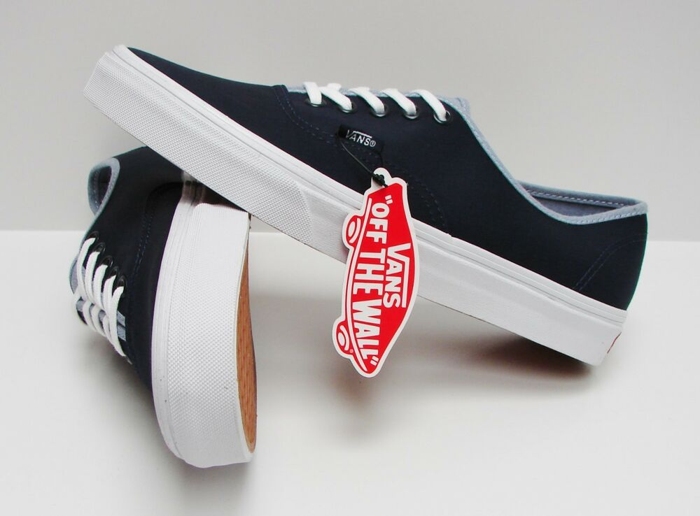 c6f4cf1f3c Details about Vans Authentic T C Dress Blues Captains Blue VN-0ZUKFN6 Men s  Size 13