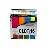 4 PCS Microfibre Multipurpose Soft Cleaning Cloth