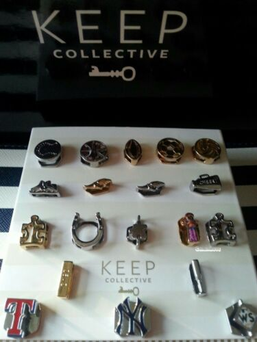 KEEP Collective Sports, Toys and Games Charms: Balls, Puzzle Piece + more HTF
