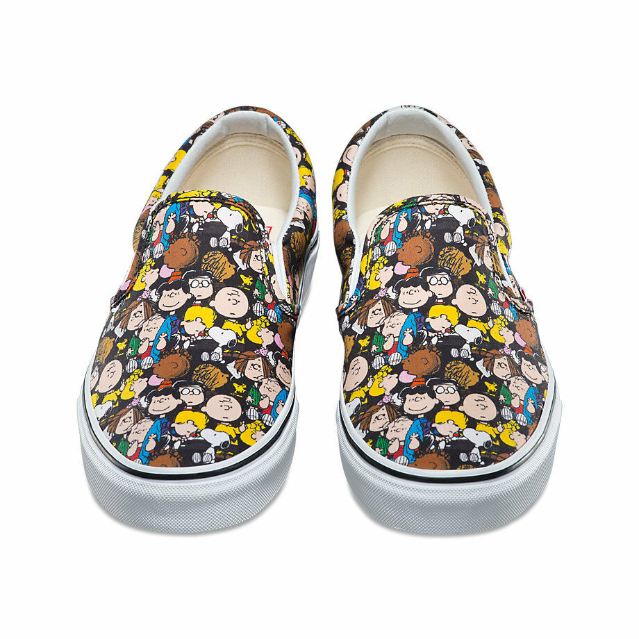 528c953dc4 Details about Vans x PEANUTS Slip-On Mens Shoes (NEW) The Gang SNOOPY  Charlie Brown FREE SHIP