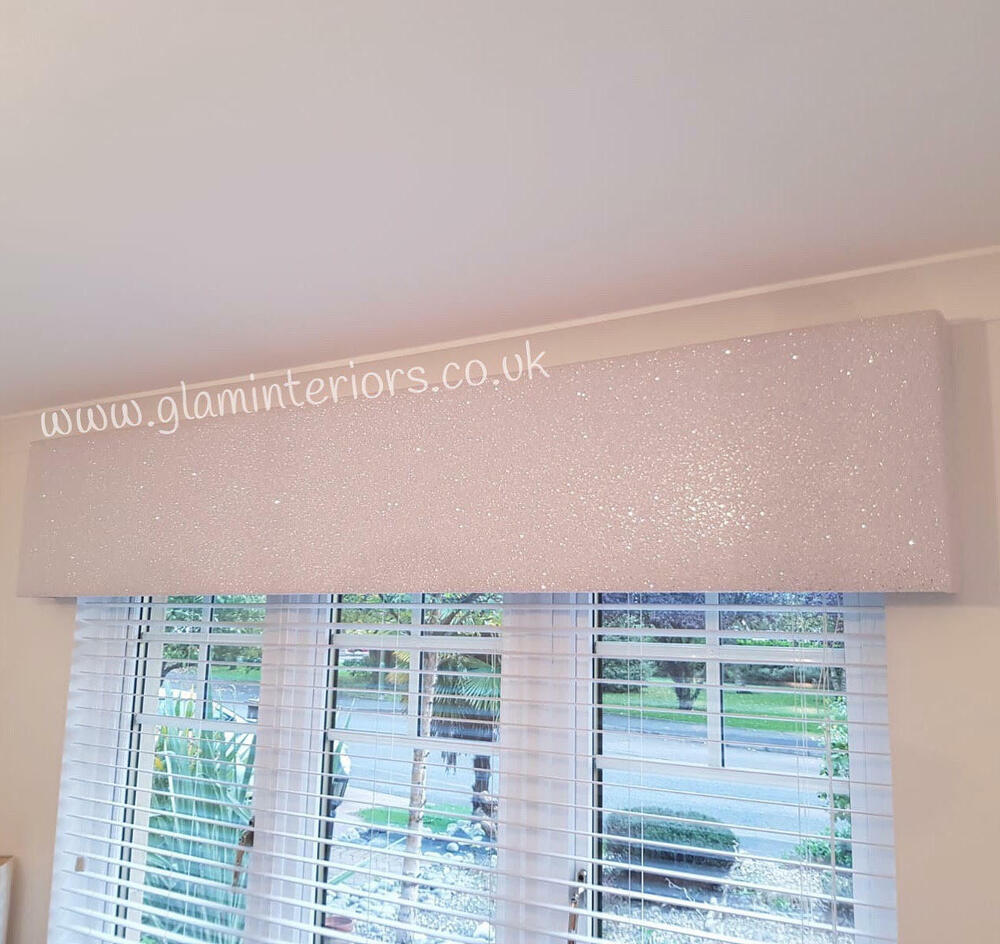 Grade 3 Glitter Boxed Padded Window Pelmet