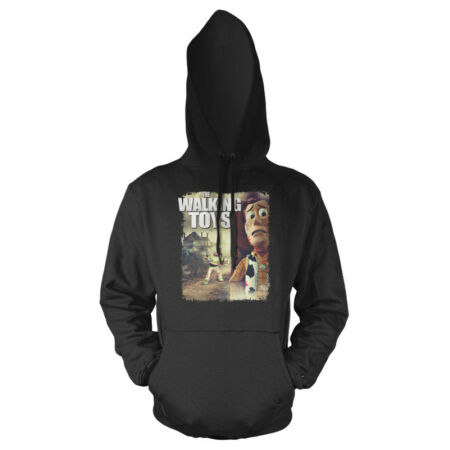 img-Walking Dead Toy Story Buzz Lightyear Woody Mash Up Adults Hoodie