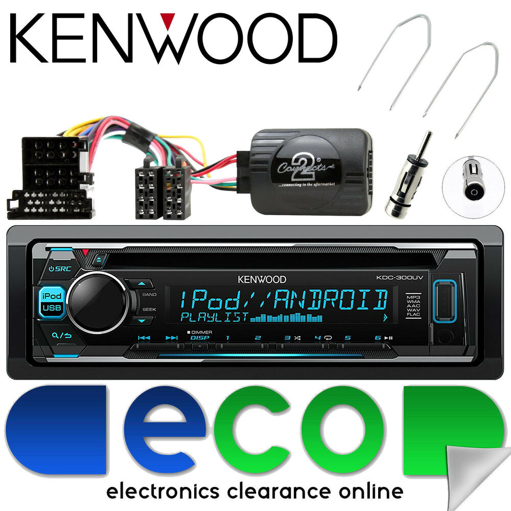 renault scenic 2003 05 kenwood cd mp3 usb stereo. Black Bedroom Furniture Sets. Home Design Ideas