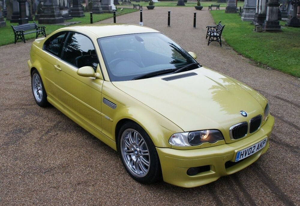 bmw e46 m3 phoenix yellow ebay. Black Bedroom Furniture Sets. Home Design Ideas
