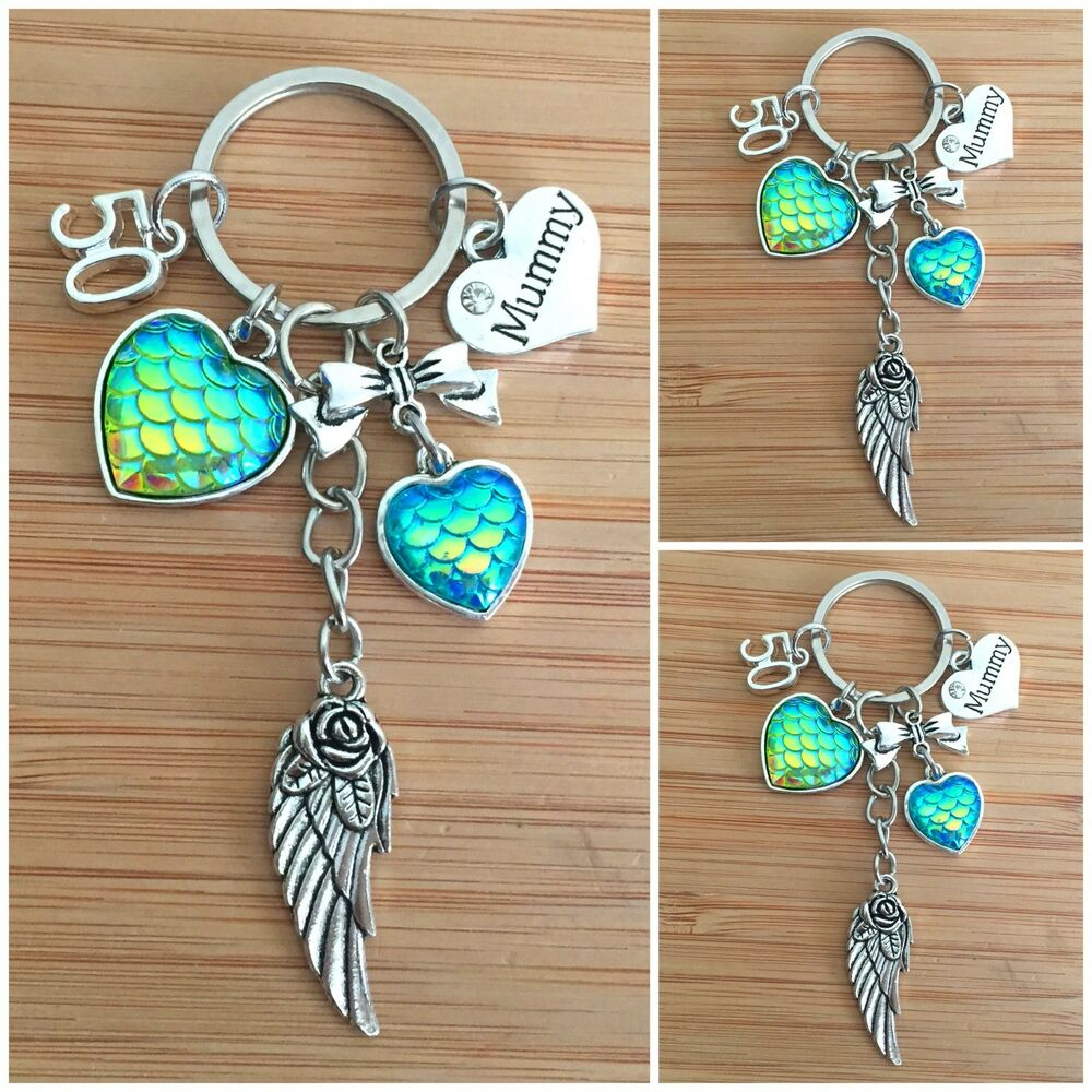 Details About Personalised HAPPY BIRTHDAY Gifts Charm Keyring 16th 18th 21st 30th Gift For Her