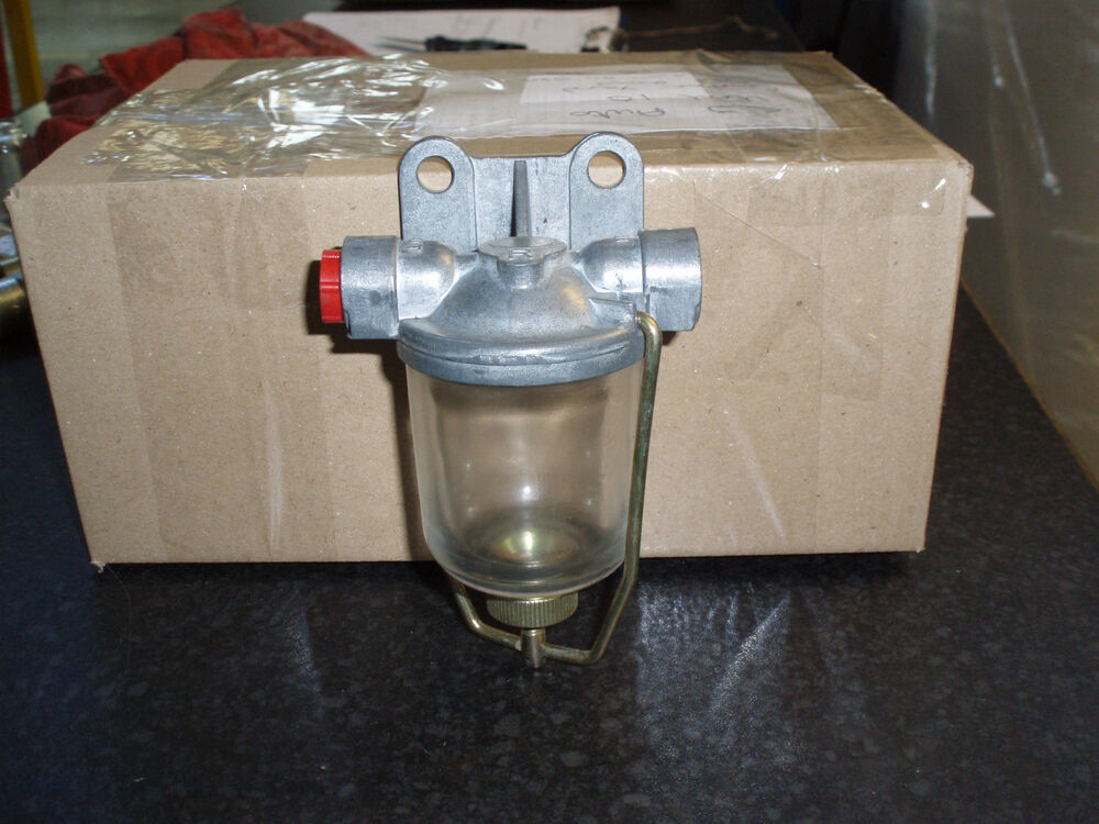 Diesel Tractor Fuel Filter Assembly : Diesel tractor generator truck glass fuel sediment filter