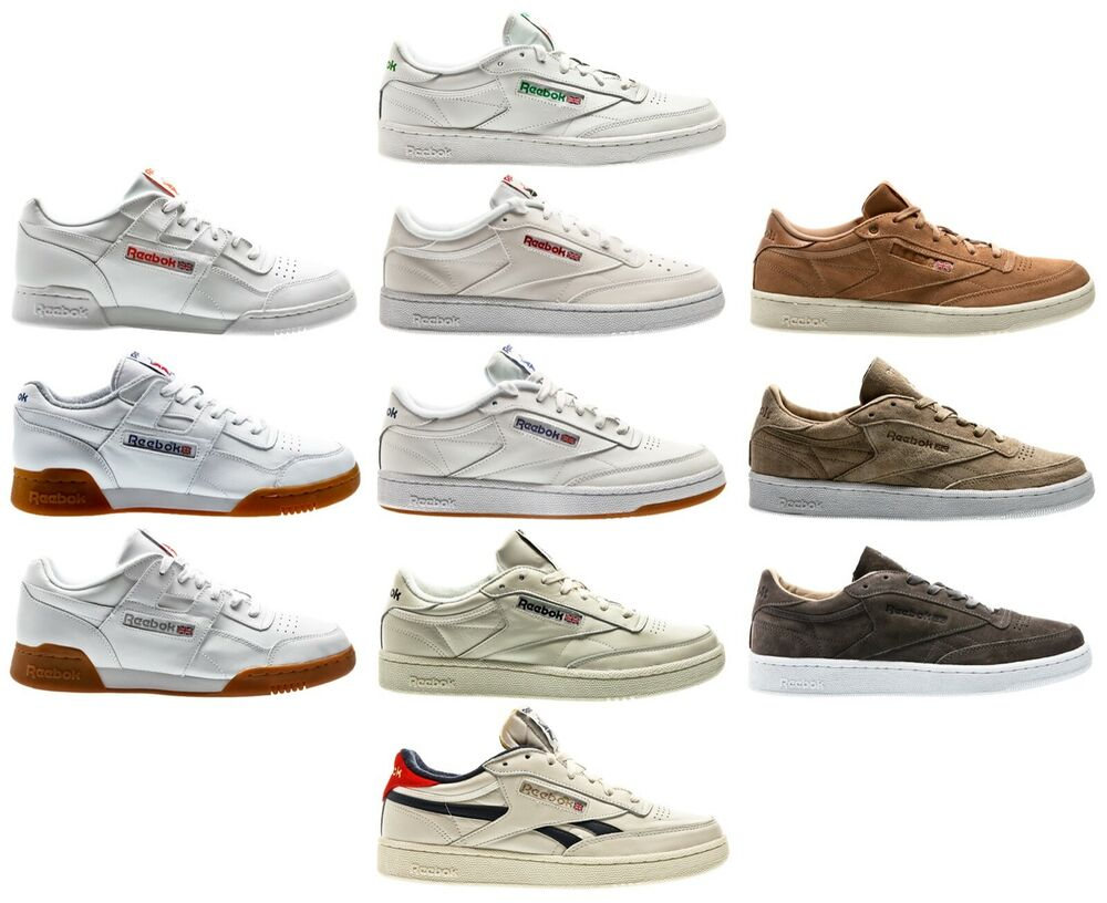 ba18240ded2 Details about Reebok Club C Gum Classic Leather ExoFit MEN SNEAKER MEN  SHOES SHOE