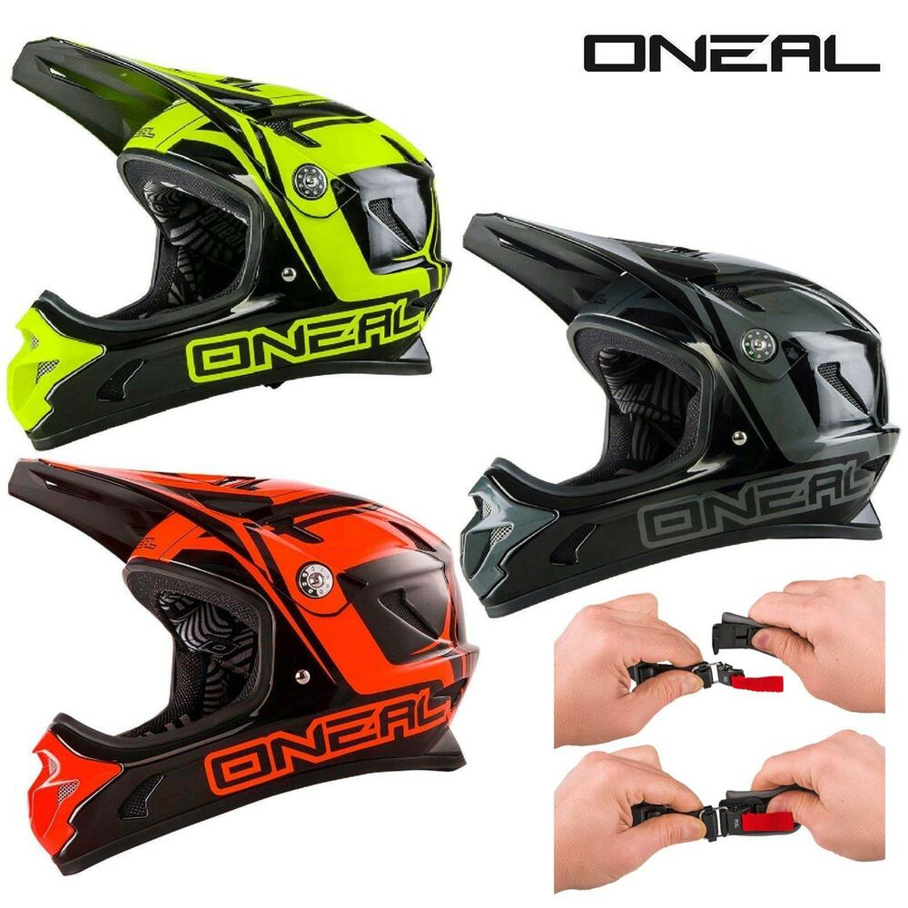 oneal spark fidlock dh helm steel mtb fullface downhill. Black Bedroom Furniture Sets. Home Design Ideas