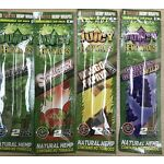 Juicy Jay's Hemp Wraps - 4 Wraps - Flavours Can Be Combined