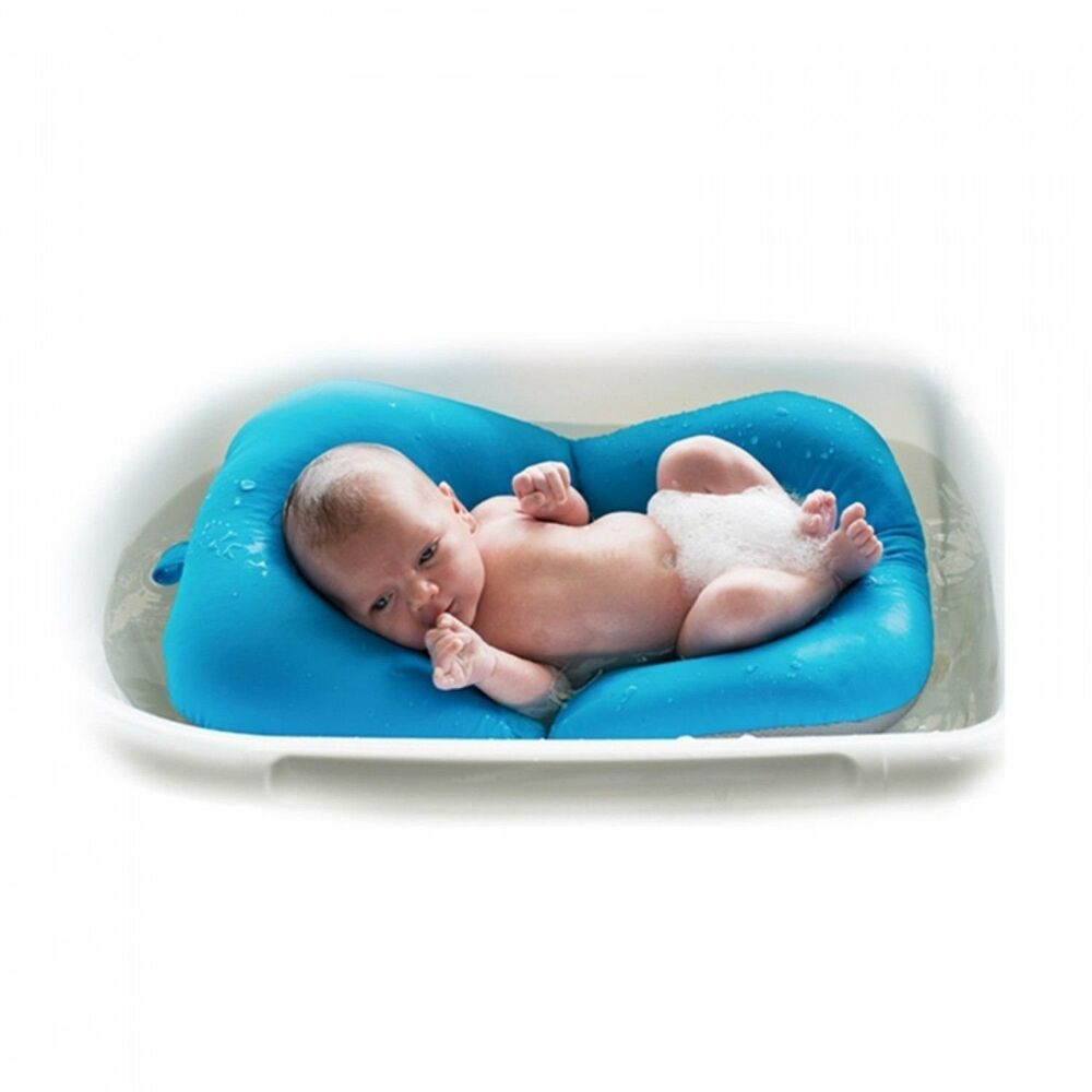 Baby Bath Tub Pillow Pad Lounger Air Cushion Floating Soft Seat | eBay