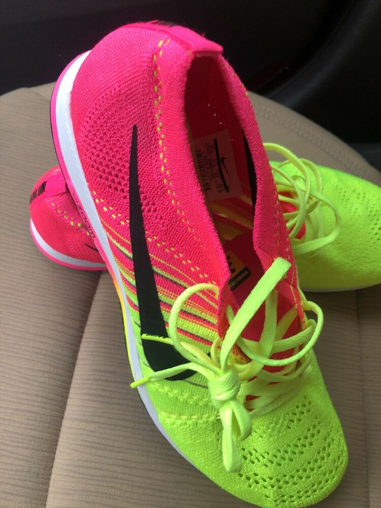 05a1db77dcb Details about NIKE FLYKNIT STREAK OLYMPIC RIO MULTI COLOR VOLT PINK 835994  999 sz 12.5