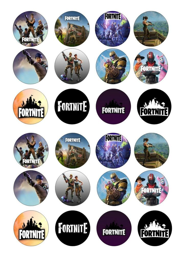 Nerdy image pertaining to fortnite printable images