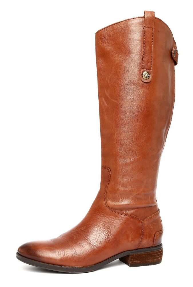 a833b681a91f9 Details about Sam Edelman Penny2 Women s Brown Leather Boots Sz 9.5 M 2890