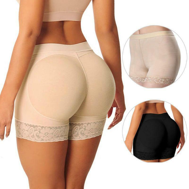 747439373bc Details about Women s Padded Butt Lifter Hip Enhancer Bum Shaper Panties  Shapewear Underwear B