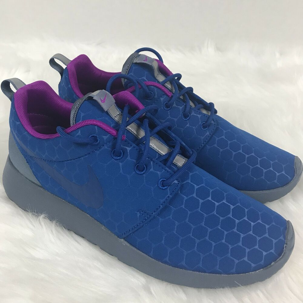 NEW NIKE Roshe One SE Running Shoes Blue Gray 844687-405 RARE HTF Men's Size 8