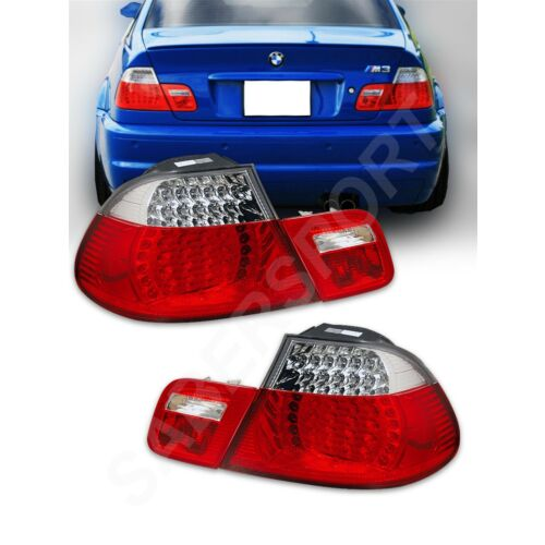 set-of-red-clear-led-taillights-4pcs-for-20002003-bmw-e46-3series-2dr-coupe