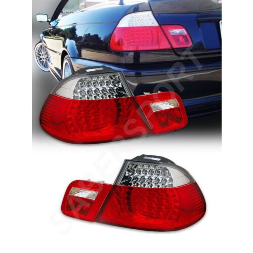 set-of-red-clear-led-taillights-4pcs-for-20002003-bmw-e46-3series-convertible