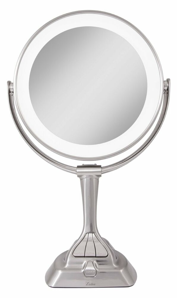 Zadro Lvar410 Led Light Dimmable Dual Sided Vanity Mirror