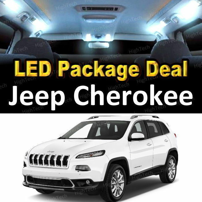 For 2017 2018 Jeep Cherokee LED Lights Interior Package