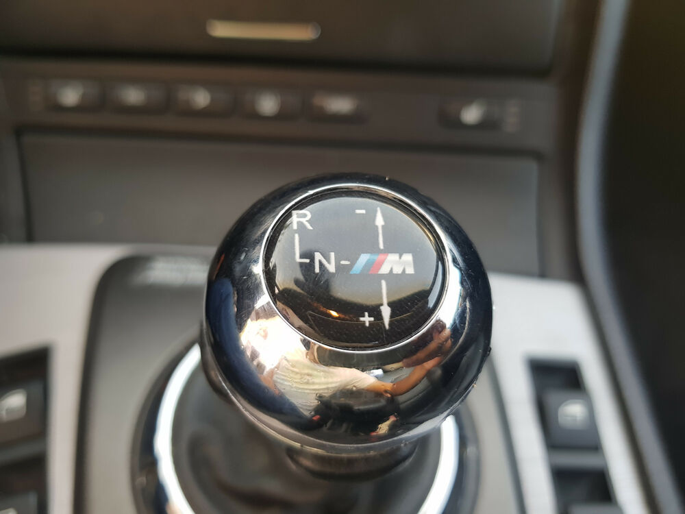 Bmw E46 M3 Smg Emblem Shift Knob Gearknob Gear Stick