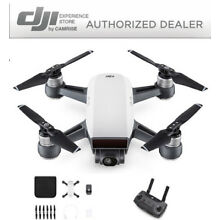 DJI Spark Drone Quadcopter White CP.PT.000731 and DJI Remote Controller