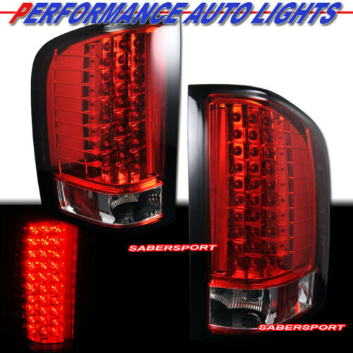 set-of-pair-red-lens-led-taillights-for-20072013-chevy-silverado-1500-2500-3500