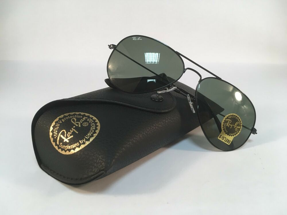 1cab71bdf7 Details about New RAY BAN Sunglasses Aviator Classic Black Green Ray-Ban  RayBan 3025 L2823