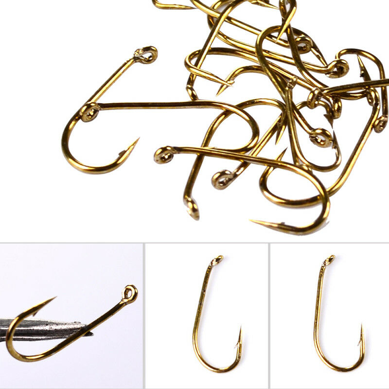 200pc Fly Fishing Hook 8000-8/12/14/16 Size fishhook ... - photo#7