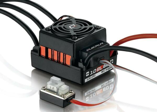 Hobbywing QUICRUN-WP-10BL60 60A Brushless ESC Waterproof For 1/10 RC Car Buggy