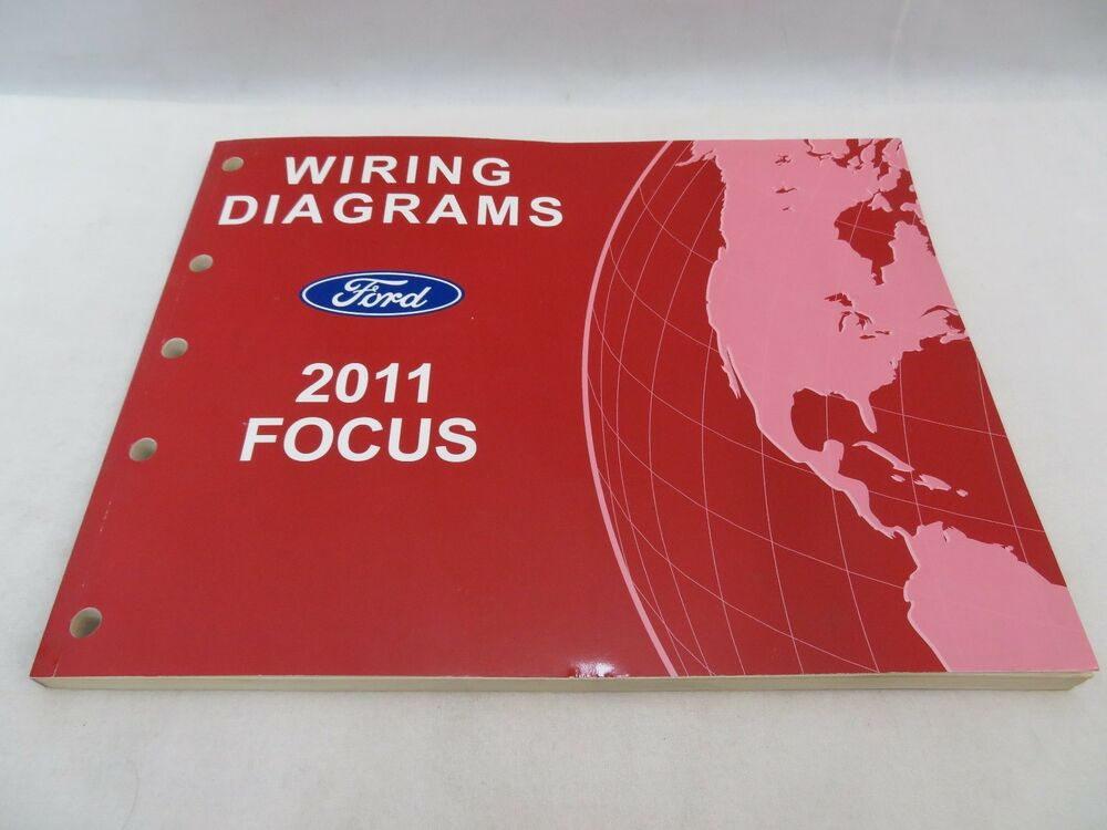2011 Ford Focus Wiring Diagrams Service Manual Oem