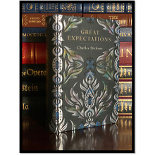 Great Expectations by Charles Dickens New Leather Bound Deluxe Gift Edition