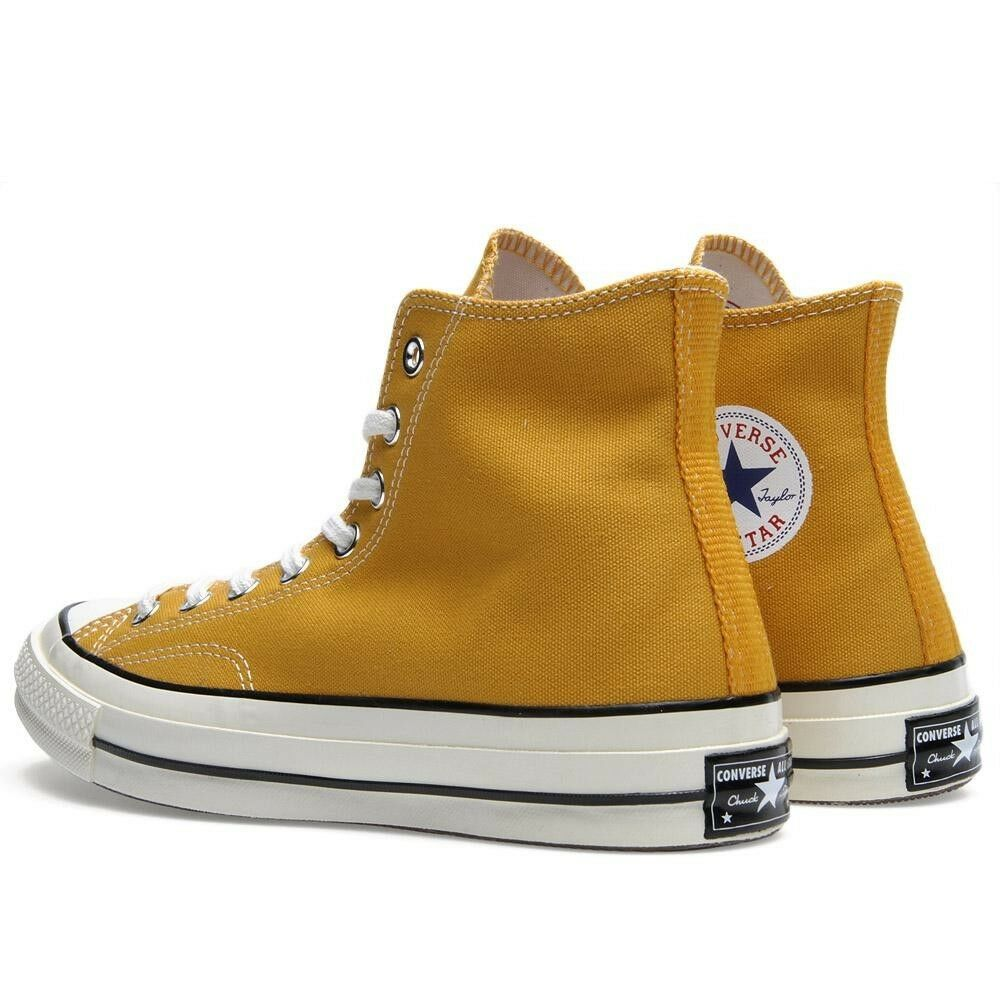 67e9f6bc25a3 Converse Chuck Taylor All Star 1970s High Sunflower Yellow First String  138478C