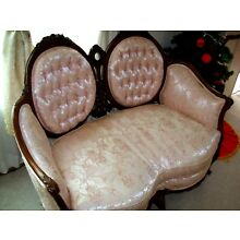 🔥VINTAGE❤SOFA SETTEE✿Victorian French Provincial Rococo Louis XV✿Photography Pr