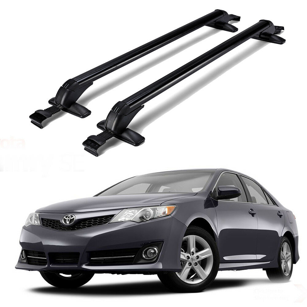 Details About For 1998 2016 Toyota Camry Car Roof Rack Cross Bars Luggage Bike Carrier W Lock