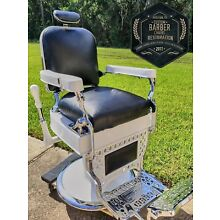 1927 Theo A Kochs - Antique Barber Chair - FULLY RESTORED
