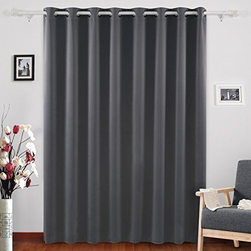 Details About Deconovo Blackout Blind Curtain Thermal Insulated Living Room Wide Curtains