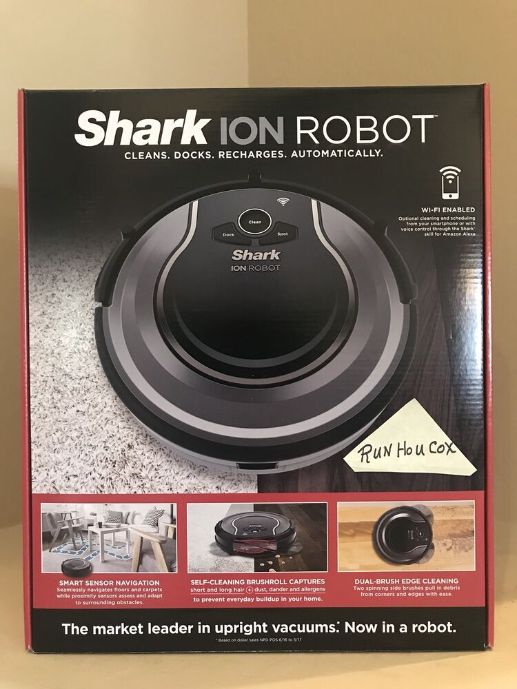 Shark Ion Robot 750 Vacuum W Wifi Connectivity Voice