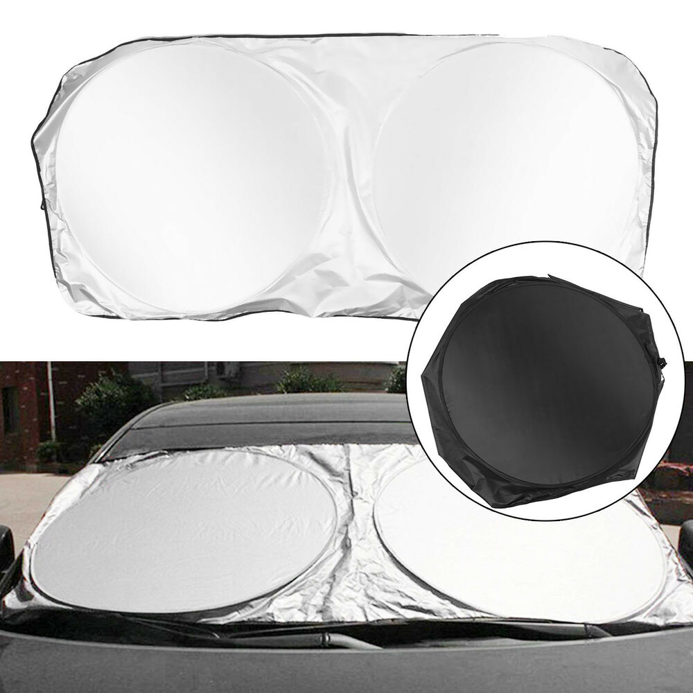 Details about Foldable Jumbo Extra Large Sun Shade Truck Van Car Windshield  Visor Block Cover 9cc5d78a4c9