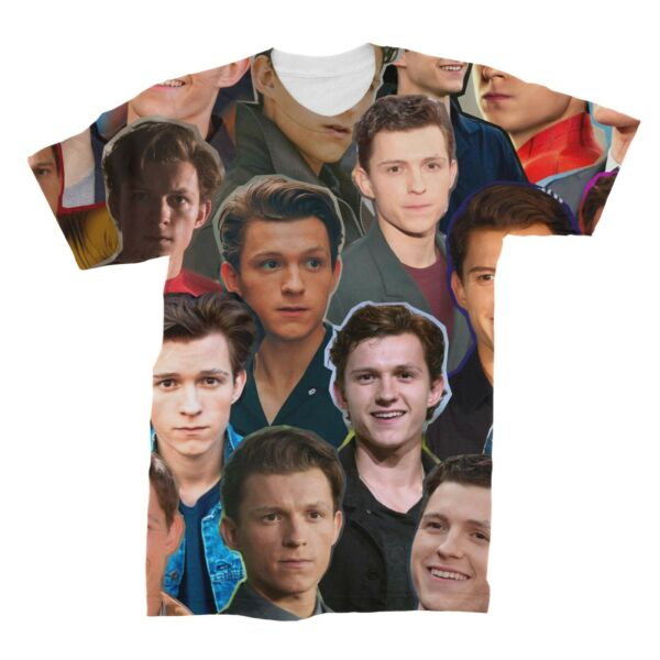 Tom Holland Photo Collage T-Shirt