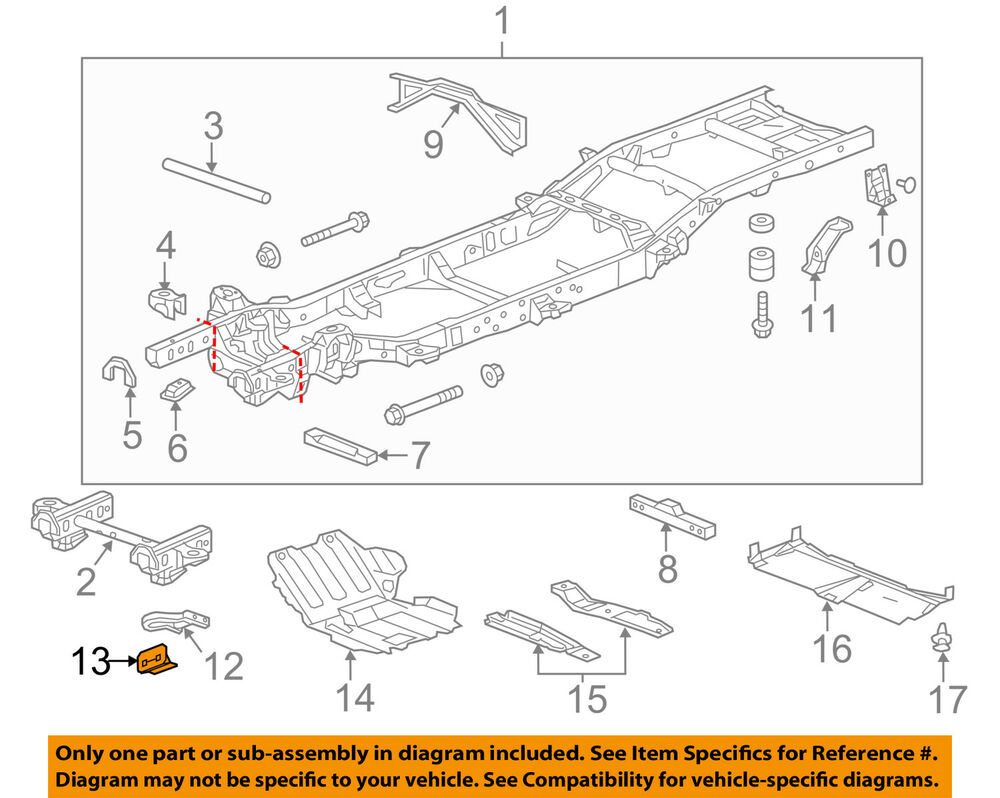Magnificent Chevrolet Gm Oem 14 18 Silverado 1500 Frame Access Cover 22972543 Ebay Wiring Cloud Hisonuggs Outletorg