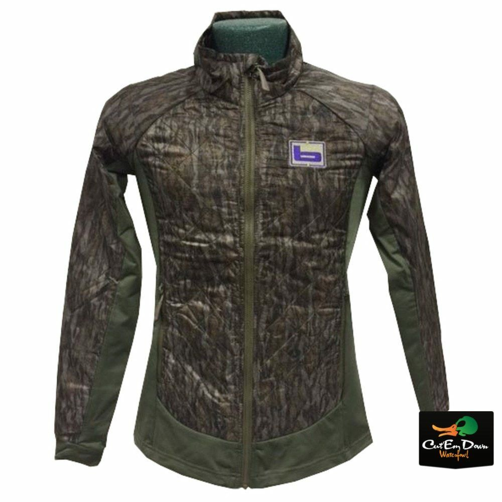 0d72db93d57b4 Details about NEW BANDED GEAR WOMENS D'ARBONNE FULL ZIP JACKET COAT  BOTTOMLAND CAMO LARGE