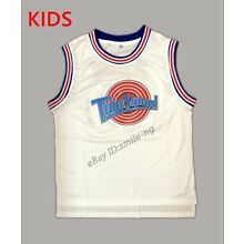 KIDS Jersey #23 Tune Squad Space Jam Basketball Jersey White