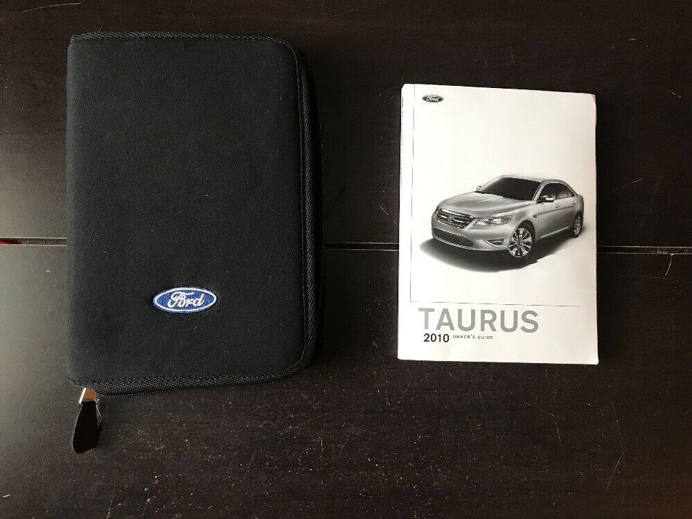 ford taurus owner manual  case oem  shipping
