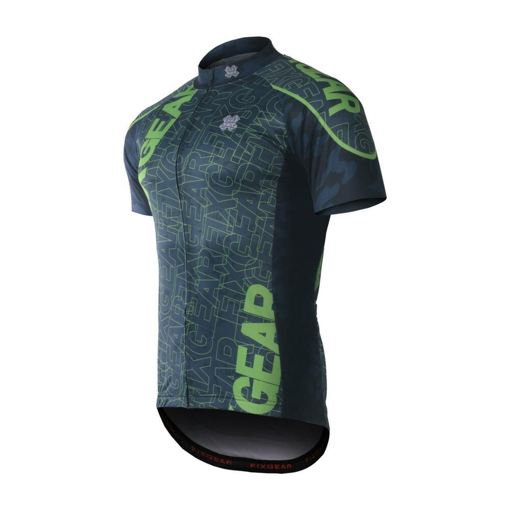 Details about FIXGEAR CS-H102 Men s Short Sleeve Cycling Jersey Bicycle  Apparel Roadbike MTB e02e338e0