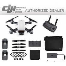 DJI Spark Fly More Combo enhanced bundle Drone White