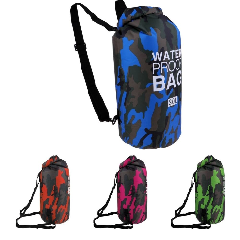 ed9ac15160 Details about Dry Bag Sack Waterproof Floating Dry Gear Bags Sack Backpack  for Watersports